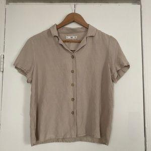 Mango linen shirt